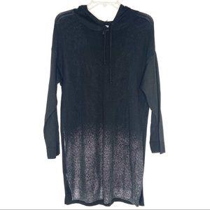 Soho Street NY & Company black hooded sweatshirt